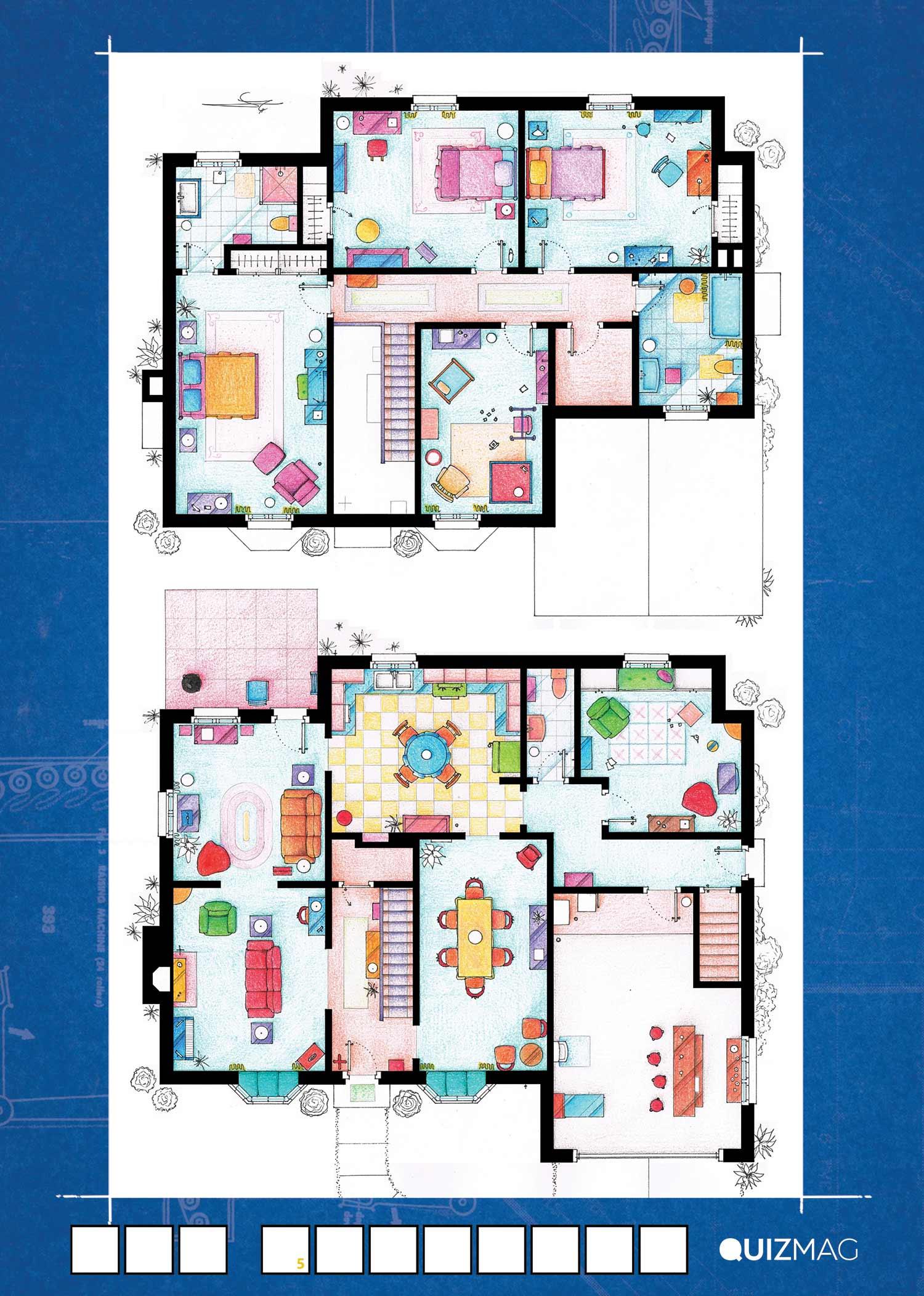 SerienGrundrisse_02 Erkennt ihr die Grundrisse dieser Serienwohnungen?